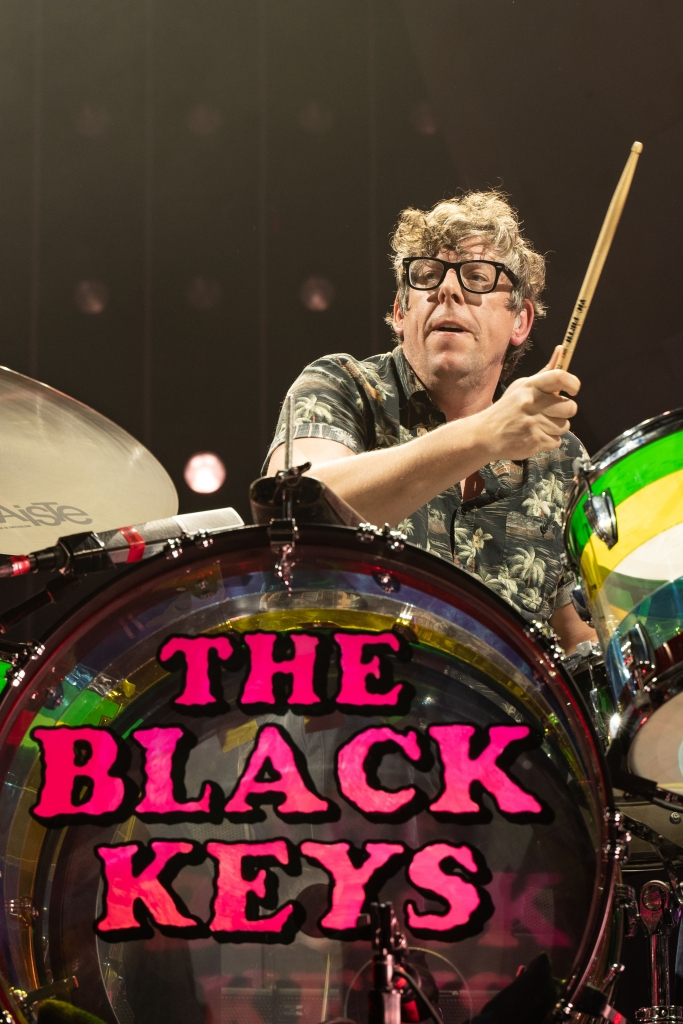 Patrick Carney of The Black Keys performing at Rogers Arena in Vancouver, BC on November 24th 2019